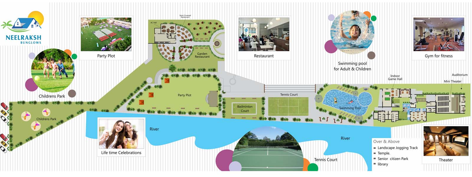 Club house layouts